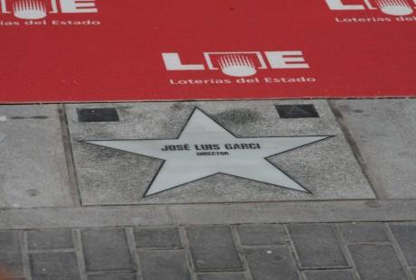 Paseo de las Estrellas en Madrid